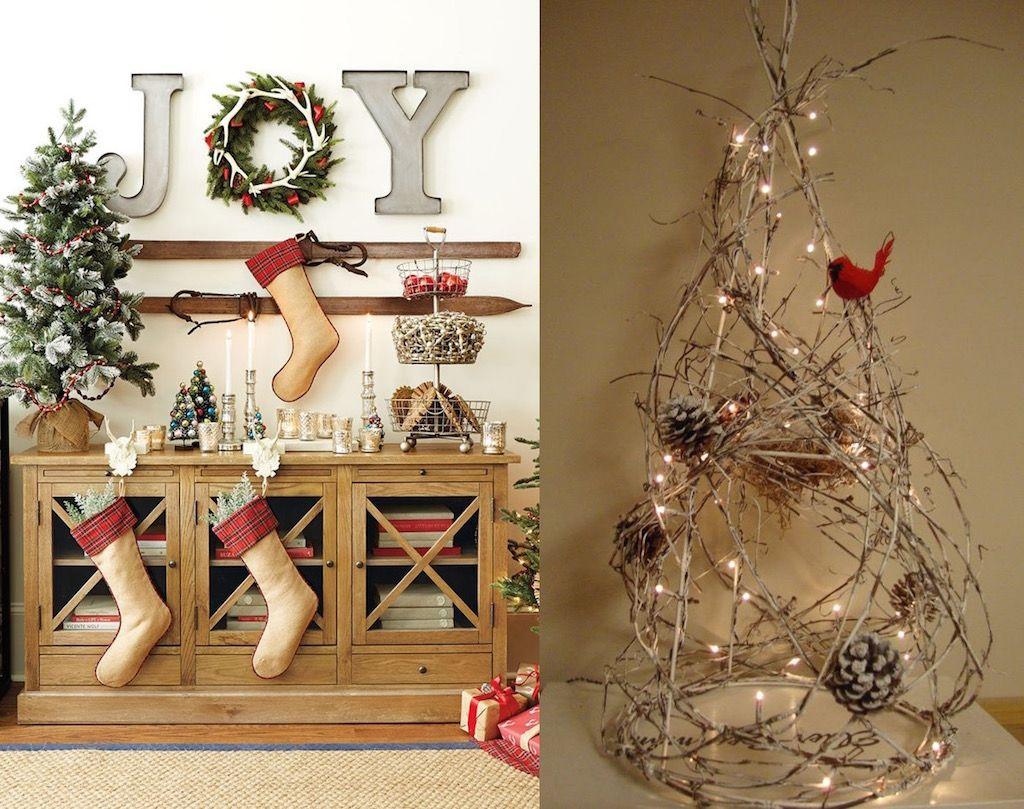 captivating indoor rustic christmas decor ideas rustic