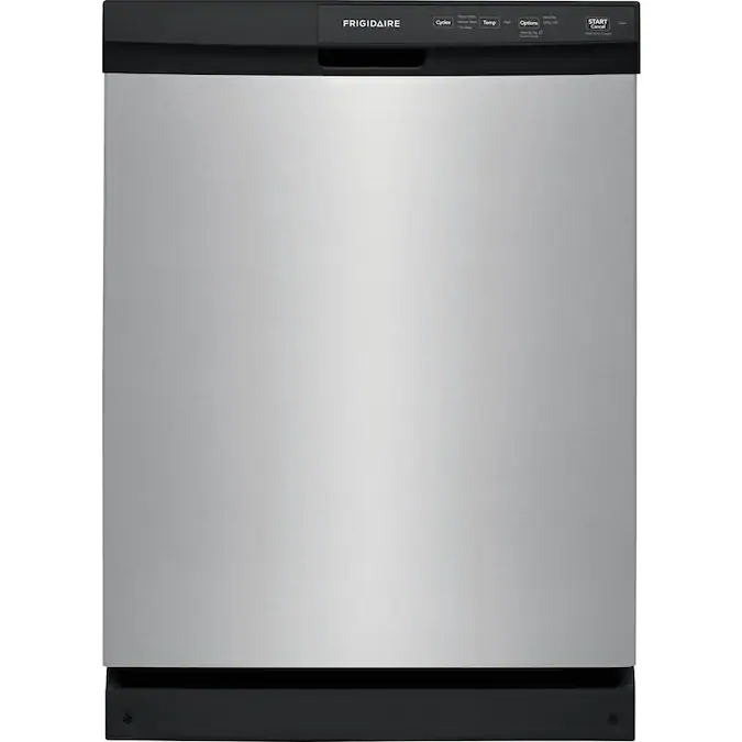 Frigidaire 60 Decibel Front Control 24 In Built In Dishwasher