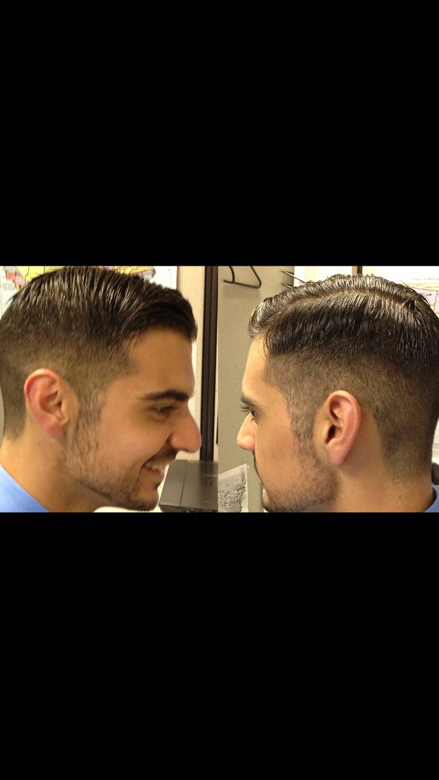 men's haircut - prohibition era