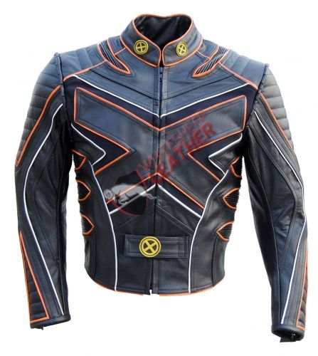 X Men X3 Wolverine Last Stand Motorcycle Leather Jacket Leather