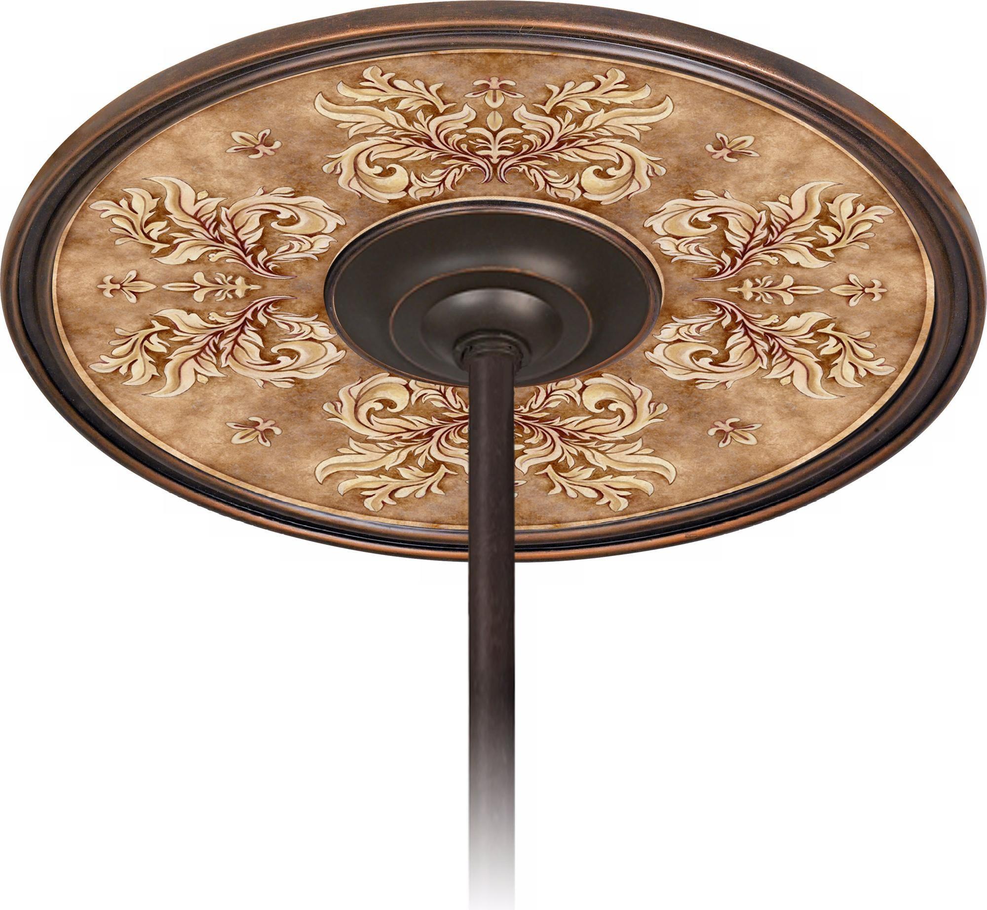 "Byzantium Giclee Bronze 6 1 2"" Opening Ceiling Fan Medallion"