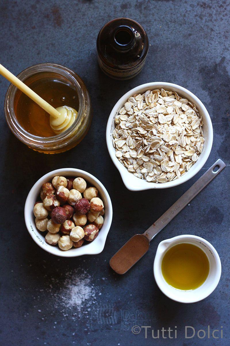 granola alle nocciole