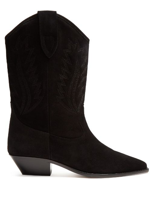 Isabel Marant Leather Cowboy Boots L61MNFMZN