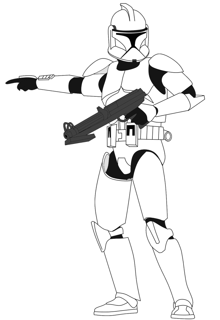 Clone Trooper With Dc 15s V3 By Fbombheart On Deviantart Star Wars Background Star Wars Pictures Star Wars Jokes