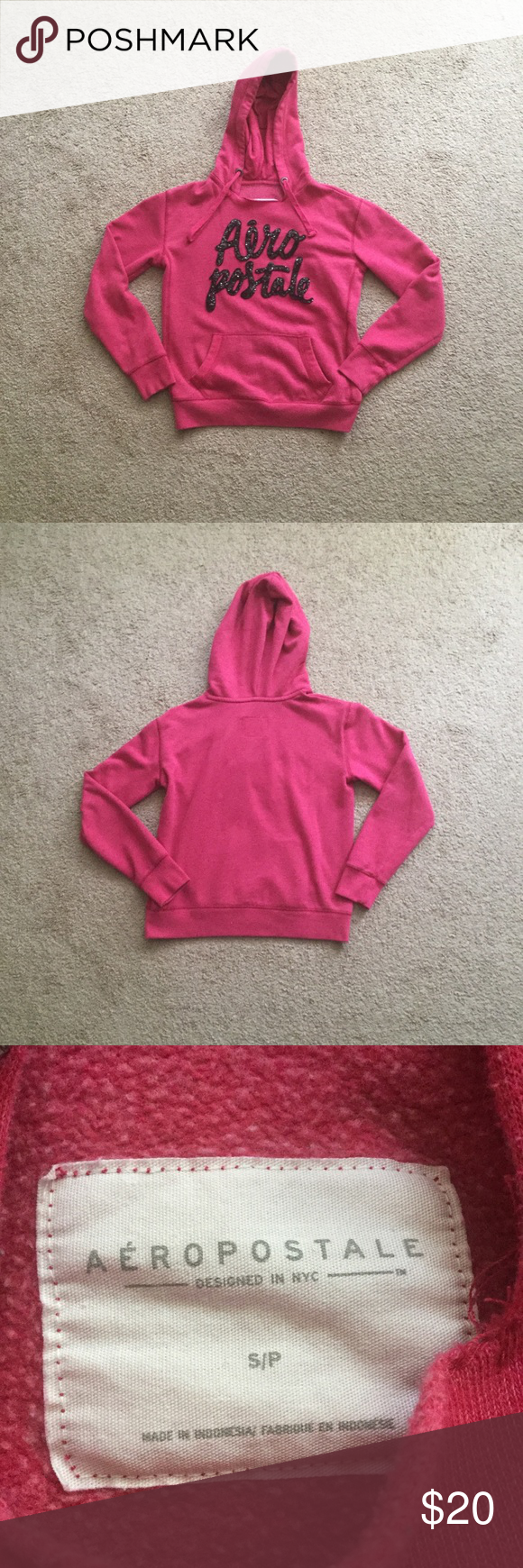 Aeropostale Women's Hoodie ⭐️Worn Lightly But In Amazing