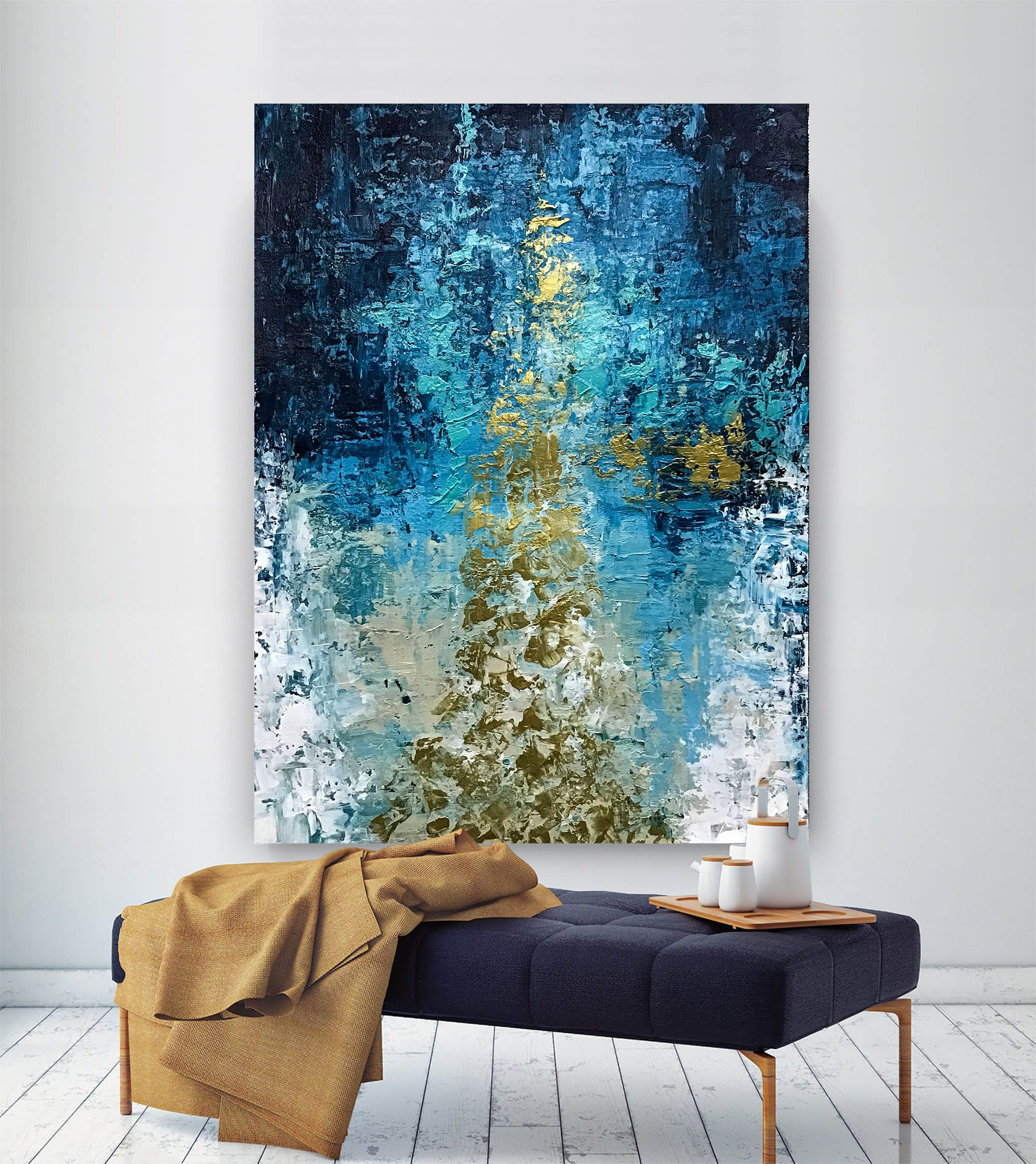 Large Abstract Painting Modern Abstract Painting Oil Hand Painting Living Room Wall Art M In 2020 Wall Art Living Room Living Room Wall Color Large Artwork Living Room #painting #art #for #living #room