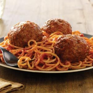 Johnsonville Italian Meatballs - I subbed the sausage for ground beef and they're in the oven now. They smell delicious!