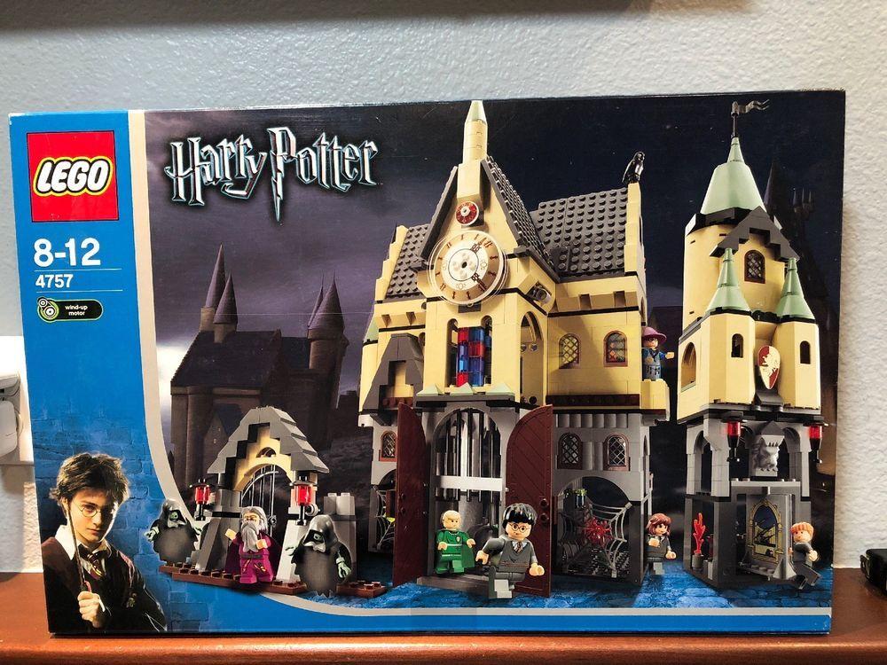 Lego Harry Potter 4757 Hogwarts Castle 2004 New In Box Near Mint