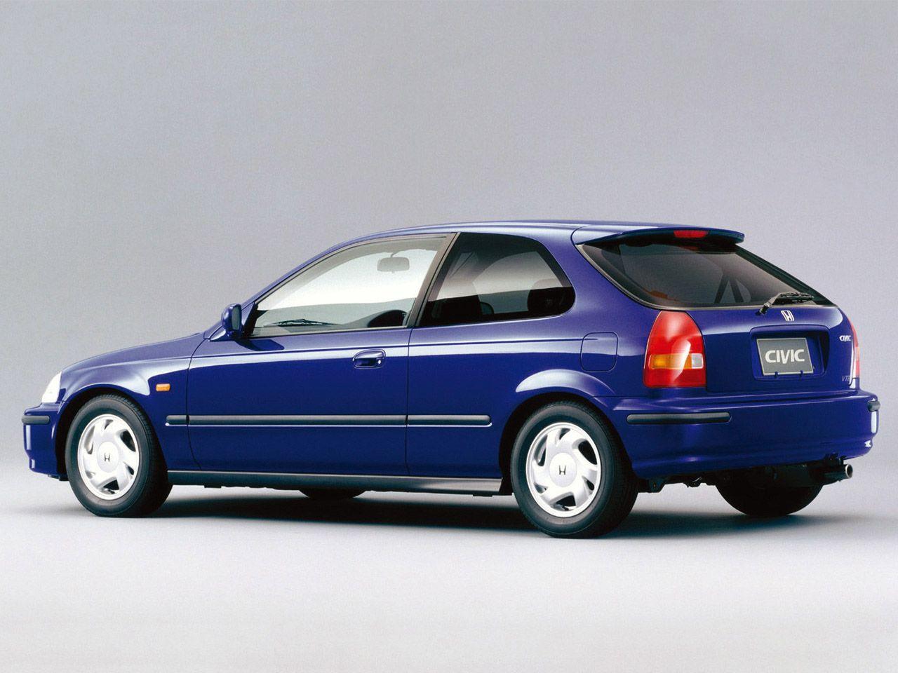 1995 Honda Civic VTi Stance nation Pinterest Honda