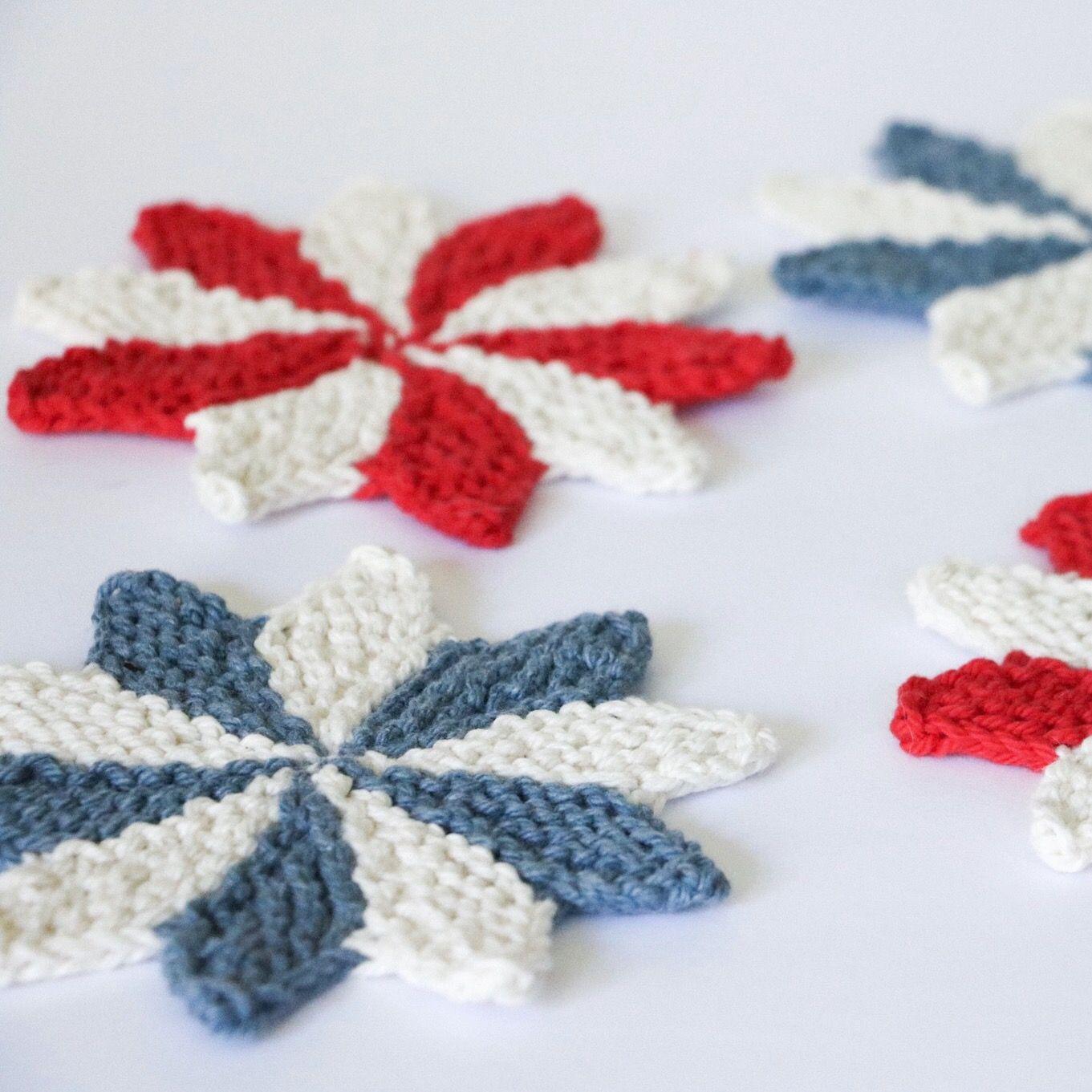 Pinwheel Coasters Knitting Pattern | Knit coaster ...