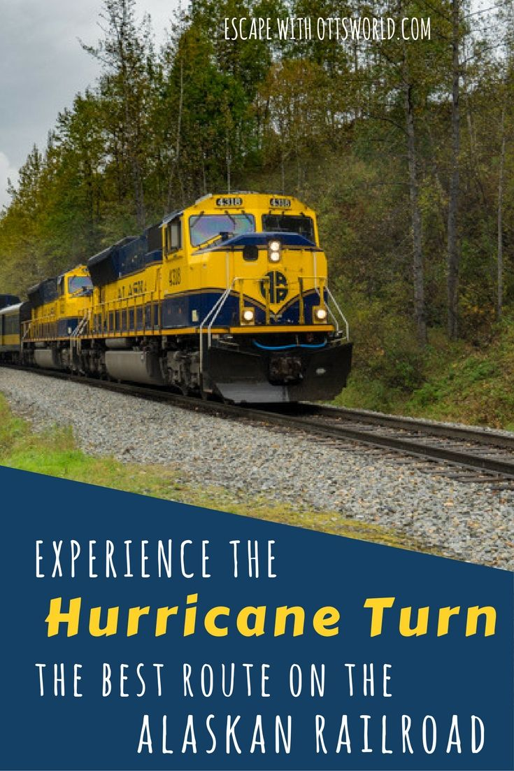 Ride The Hurricane Turn Train The Best Kept Secret On The Alaskan Railroad And Maybe All Of Alaska Via Ottsworl Alaskan Railroad Alaska Travel Alaska Train