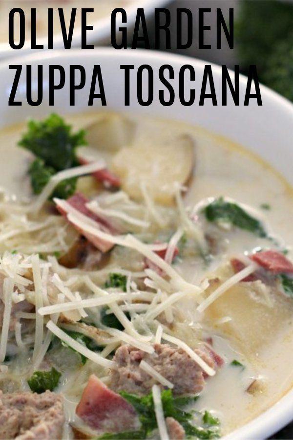 Olive Garden Zuppa Toscana Soup Copycat #zuppatoscanasoup