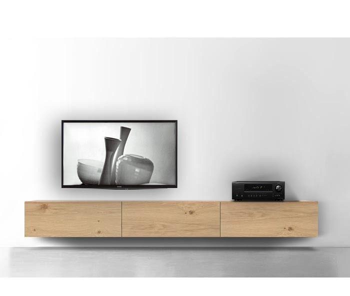 Livitalia Holz Lowboard Konfigurator Wand