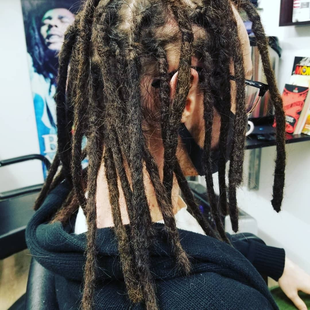 Permanent Dreadlock Extensions with 100 Human Hair