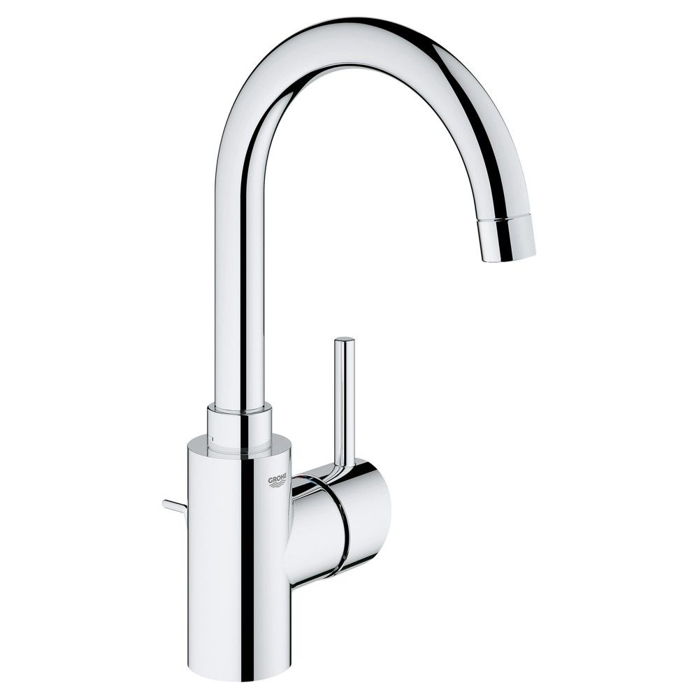Grohe America Inc 32 138 2 Concetto 1 2 Gpm Single Hole Bathroom Faucet With Pop U Single Hole Bathroom Faucet Bathroom Faucets Single Handle Bathroom Faucet [ 1000 x 1000 Pixel ]