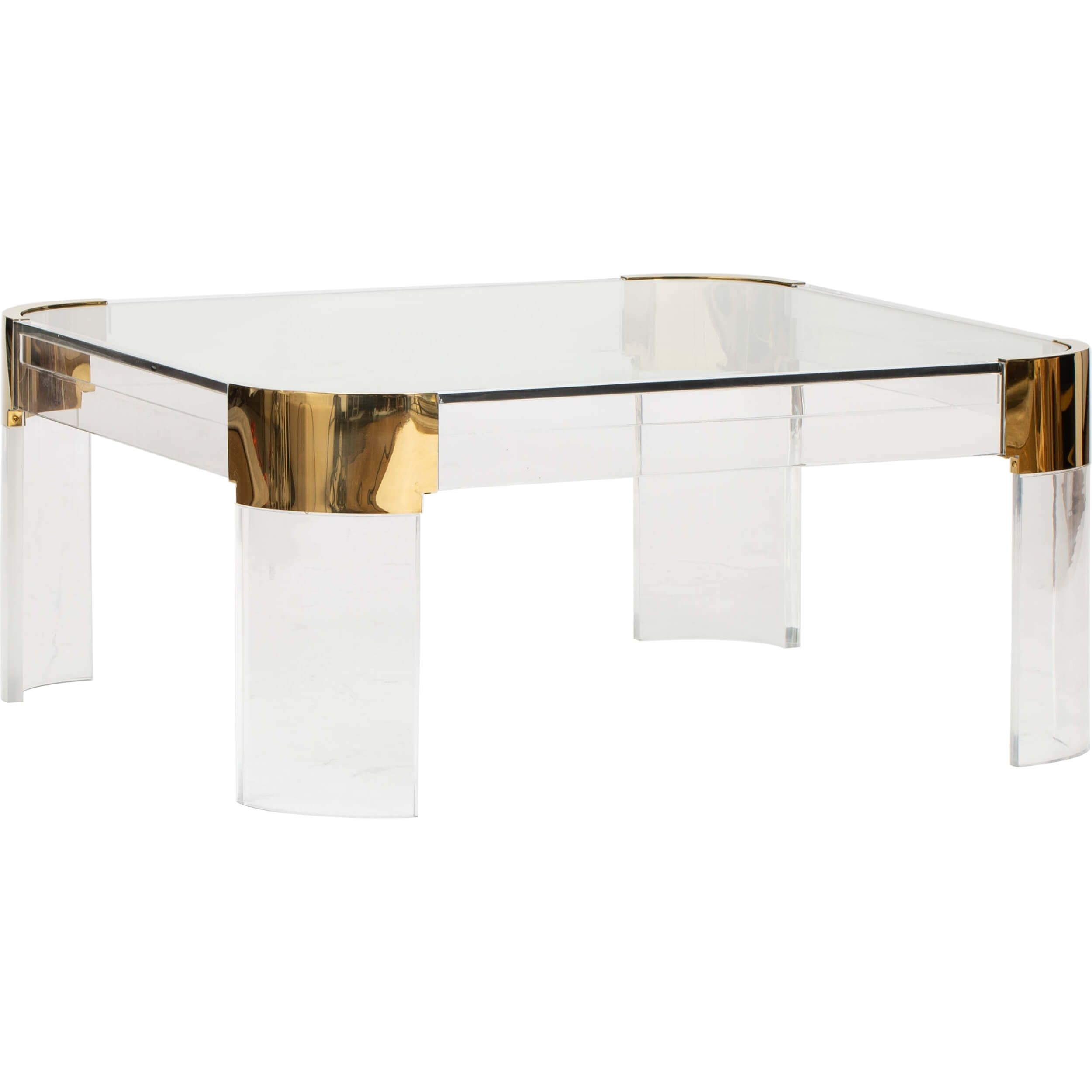 The Castello Acrylic Cocktail Table Is A Beauti Cocktail Tables Table Dining Table [ 2500 x 2500 Pixel ]