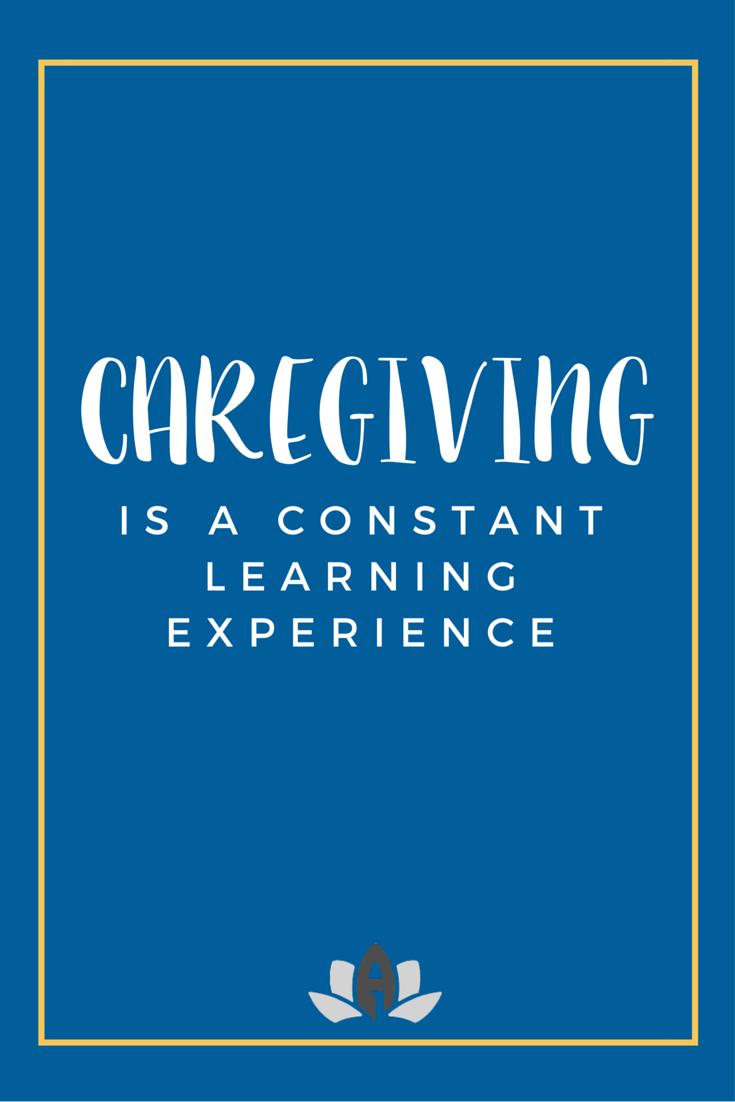 caregiver - Experience As A Caregiver