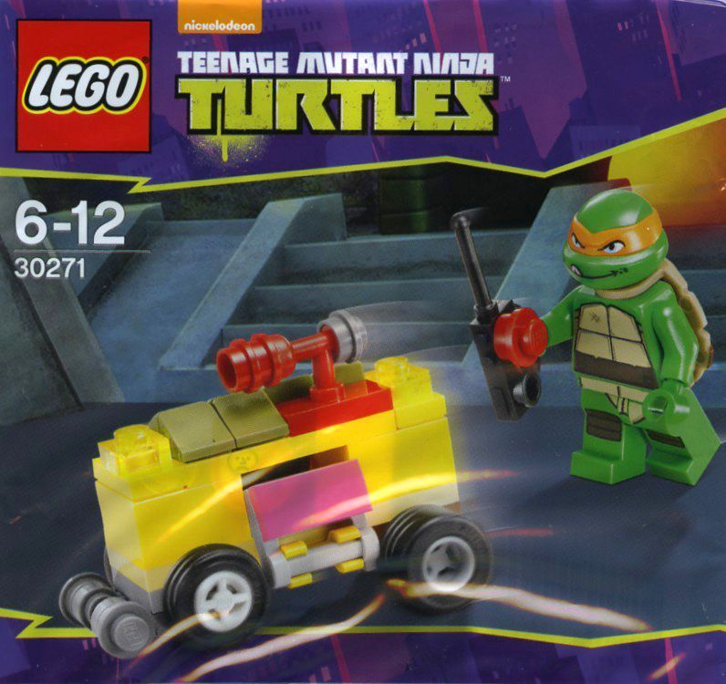 LEGO ® Sets-Teenage Mutant Tartarughe Ninja 30271-Mikey /'S MINI-ShellRaiser