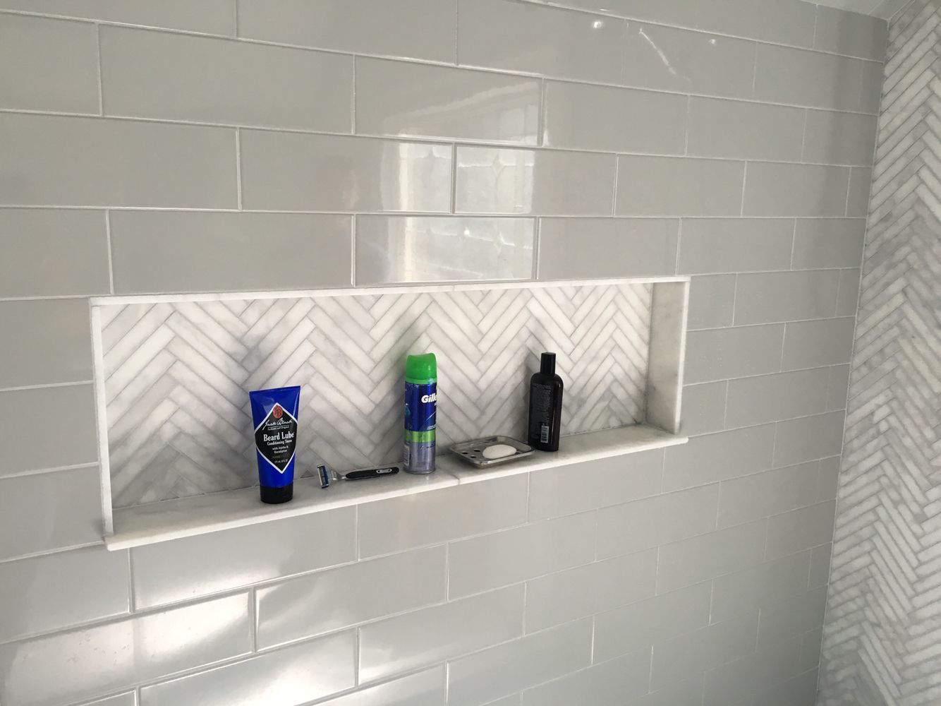 Shampoo Box Niche Shower Imgtile Imagine Tile