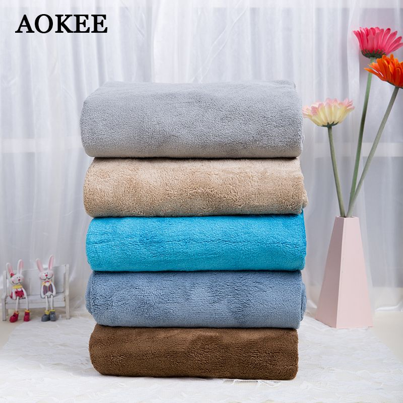 Aokee Brand Microfibre Sport Bath Towel For Men Bathroom 75 150cm