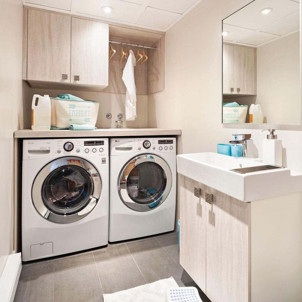 Salle de lavage tout usage - Je Décore