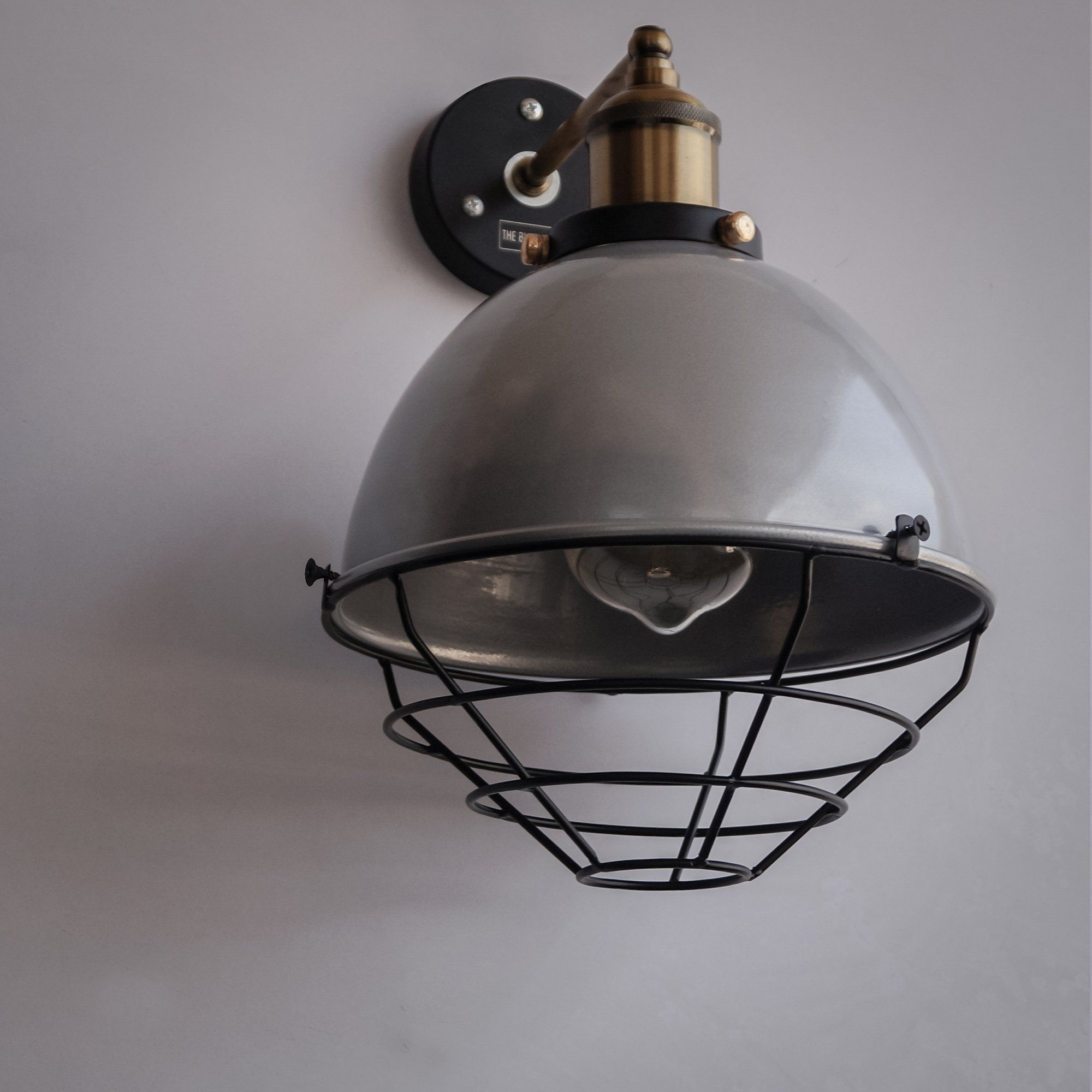 sconces light electric sconce esso white lighting shade porcelain industrial barn wheeler inch wall