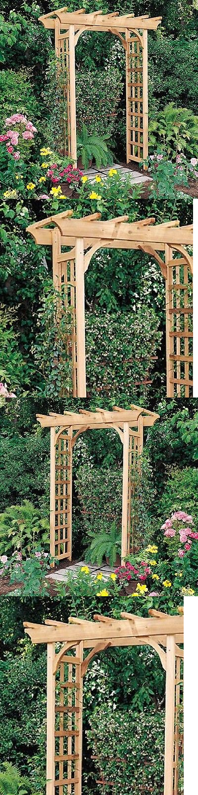 Pergolas 180996 Pergola Kits Wedding Arbor Garden Trellis Arches Free Standing Outdoor Cedar