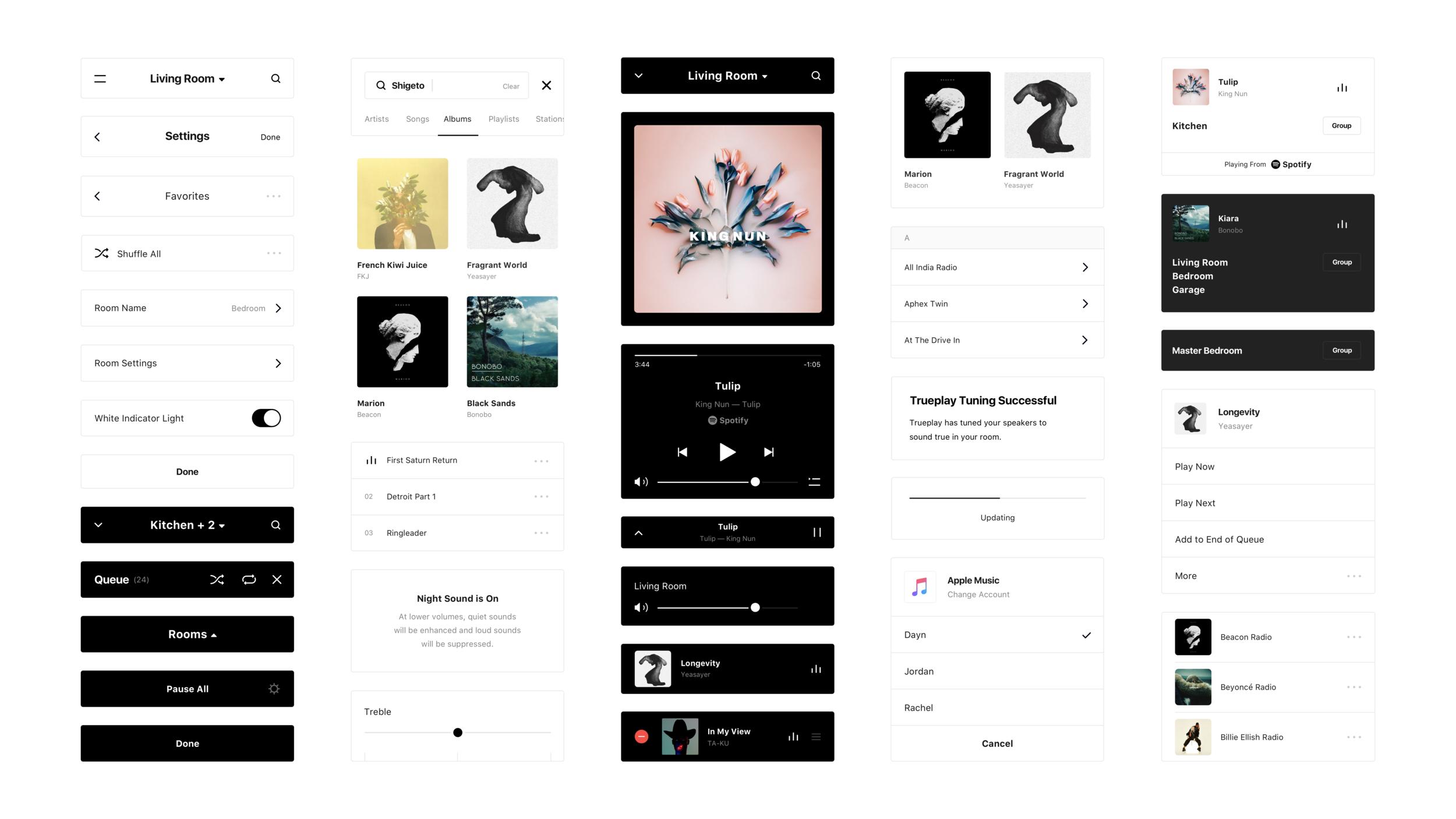 Sonos Instrument Sonos App Sonos Design System