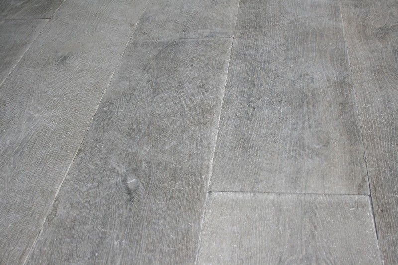 Grey wood stain on wide floorboards | under foot ...