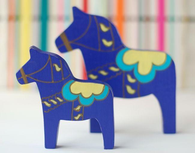 Dala Horse, caballitos pintados a mano