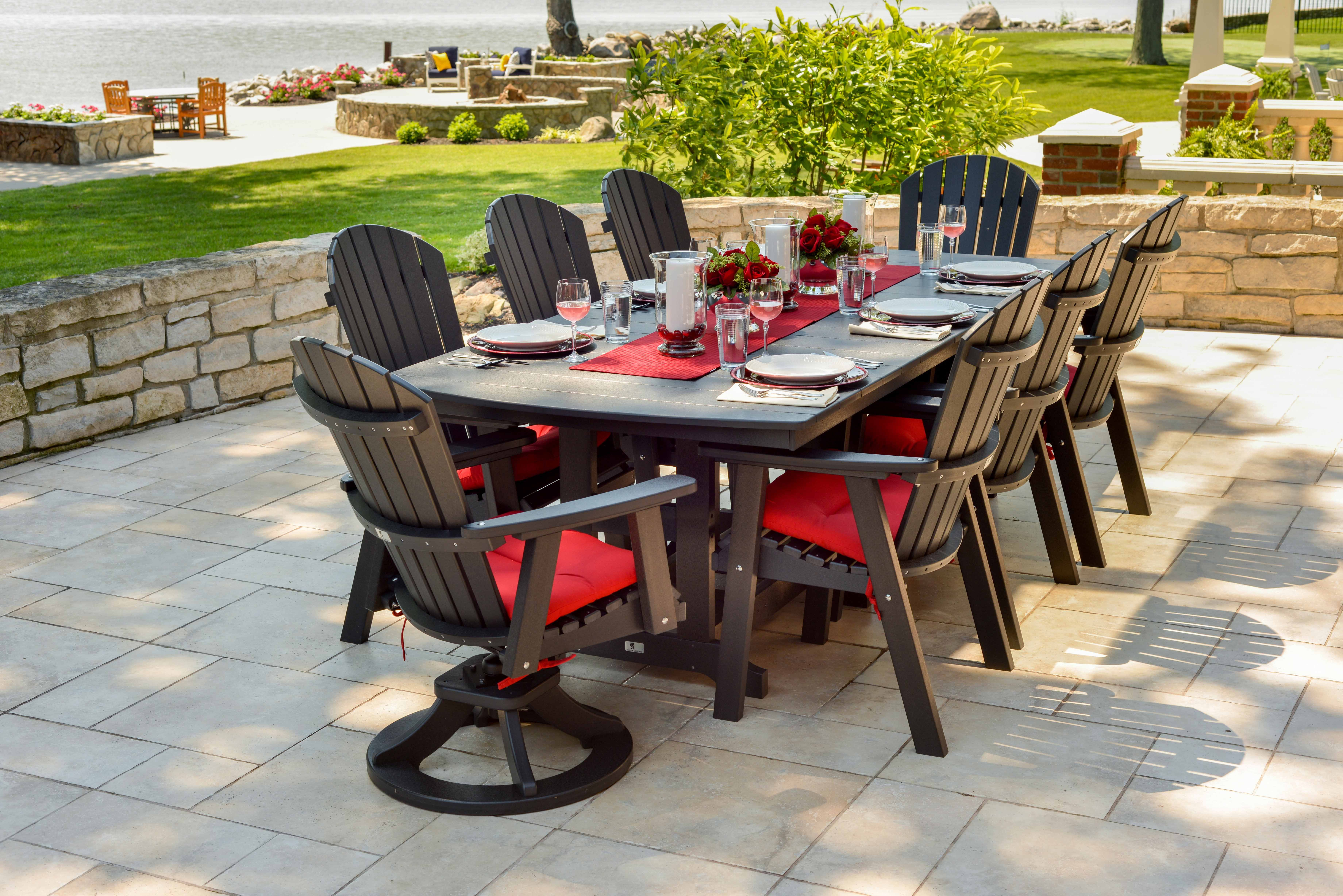 Pin By Berlin Gardens Llc On Meet Me On The Patio Poly Outdoor Furniture Poly Furniture Outdoor Furniture