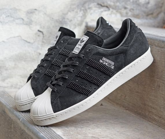 adidas Originals by NEIGHBORHOOD – NH SHELLTOE (Superstar 80s) | Available  Now