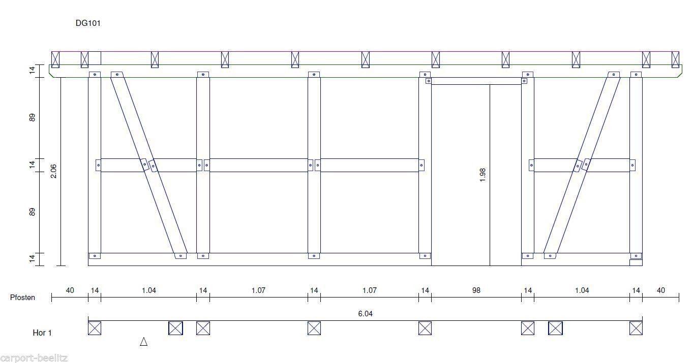 Details Zu Fachwerk Carport Hannover Satteldach Kvh 6 14 X 6 04 M Als Bausatz Satteldach Fachwerk Bausatz