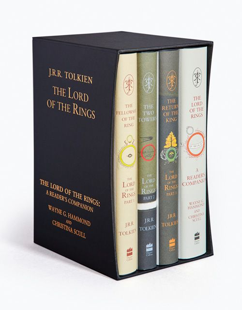 lord of the rings hardcover books