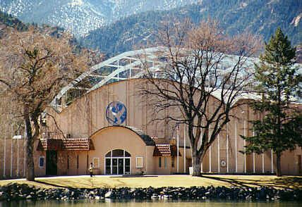 East Entrance Broadmoor World Arena Colorado Springs Ice Houses Around The Worlds House Styles