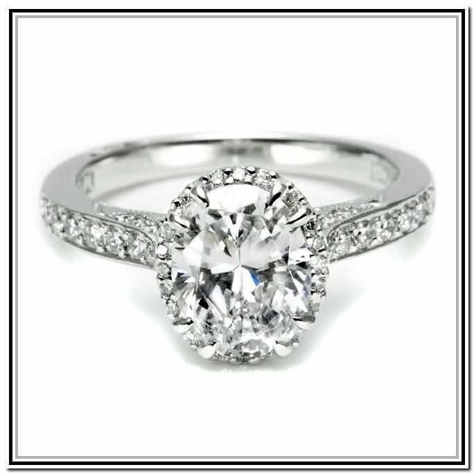 Celebrity Engagement Rings Oval Cut 56