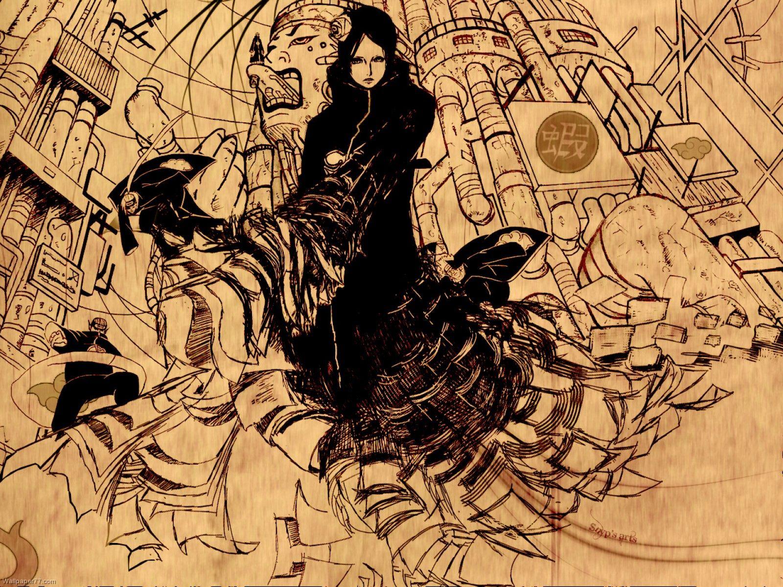 Naruto Wallpaper Konan
