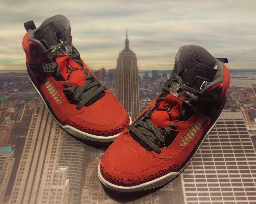 more photos 319cb c69bc Nike Air Jordan Spizike Toro Bravo Gym Red Black Men s Size 12 315371 601  New