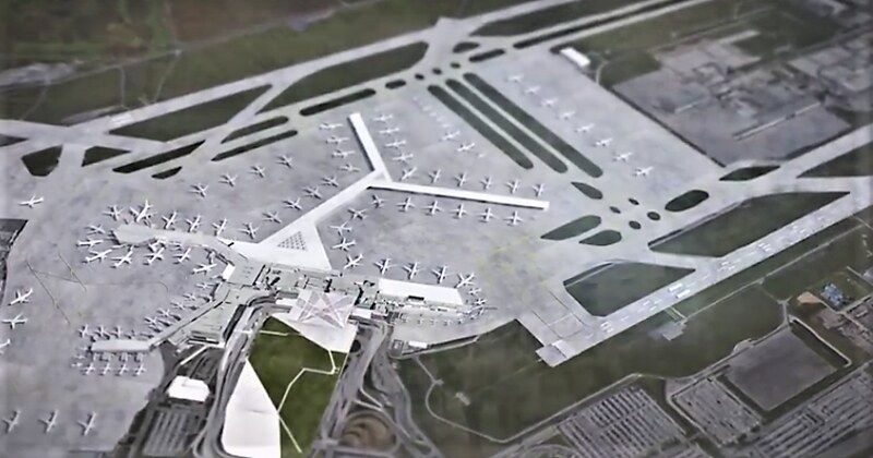 Montreal Airport Expansion Google Search Montreal Airport Airport Montreal