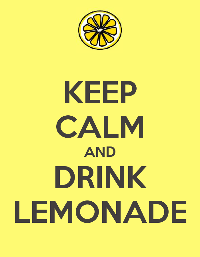 Scattered Thoughts Of A Crafty Mom Lemonade Stand Includes Link To This Printable Poster Might Want To Kids Lemonade Stands Lemonade Stand Diy Lemonade Stand