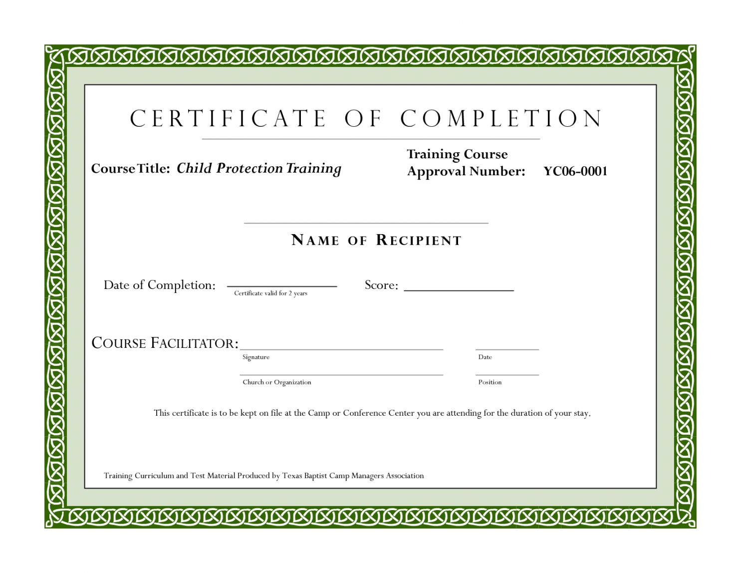 The Charming Editable Sample Certificate For Training Completion For Fall Protect Certificate Of Completion Template Training Certificate Education Certificate Fall protection training certificate template