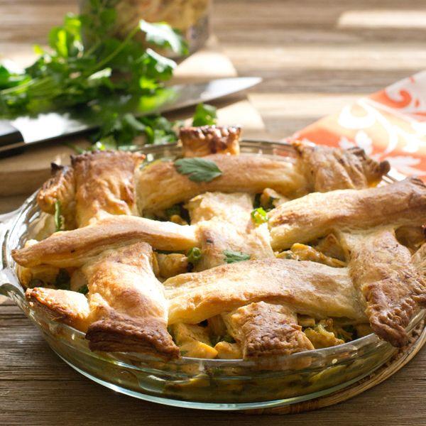 Chicken korma pot pie recipe korma pot pies and pie chicken korma pot pie forumfinder Images