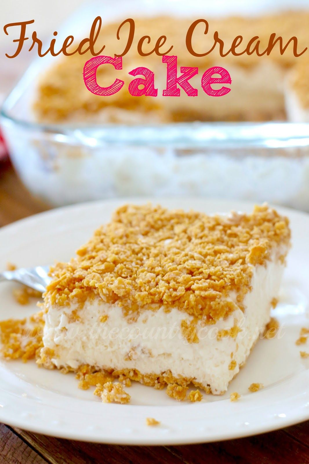 Make fried ice cream cake instead of just one serving enough for a make fried ice cream cake instead of just one serving enough for a crowd and it whips up so quickly and simply the flavor is outta this world good ccuart Choice Image