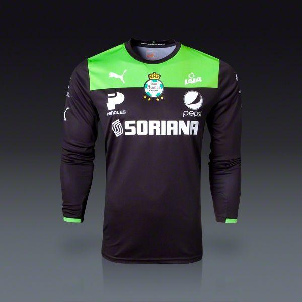 promo code 24992 01060 PUMA Santos Laguna Goalkeeper Jersey 2013   Soccer Fan Gear ...