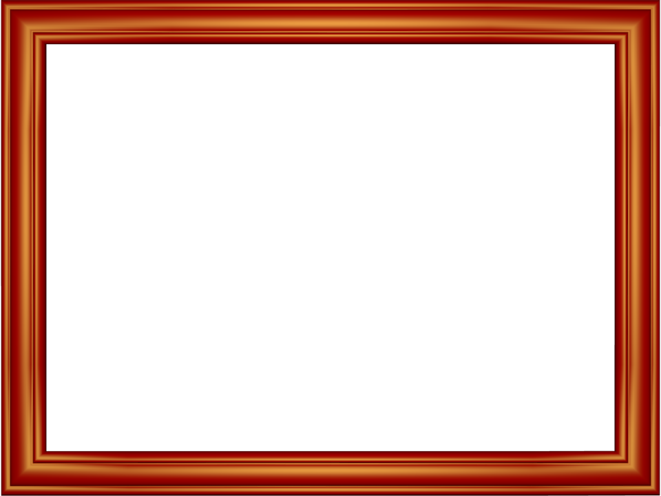 Free Frames and borders png | Red Elegant Embossed Frame Rectangular ...