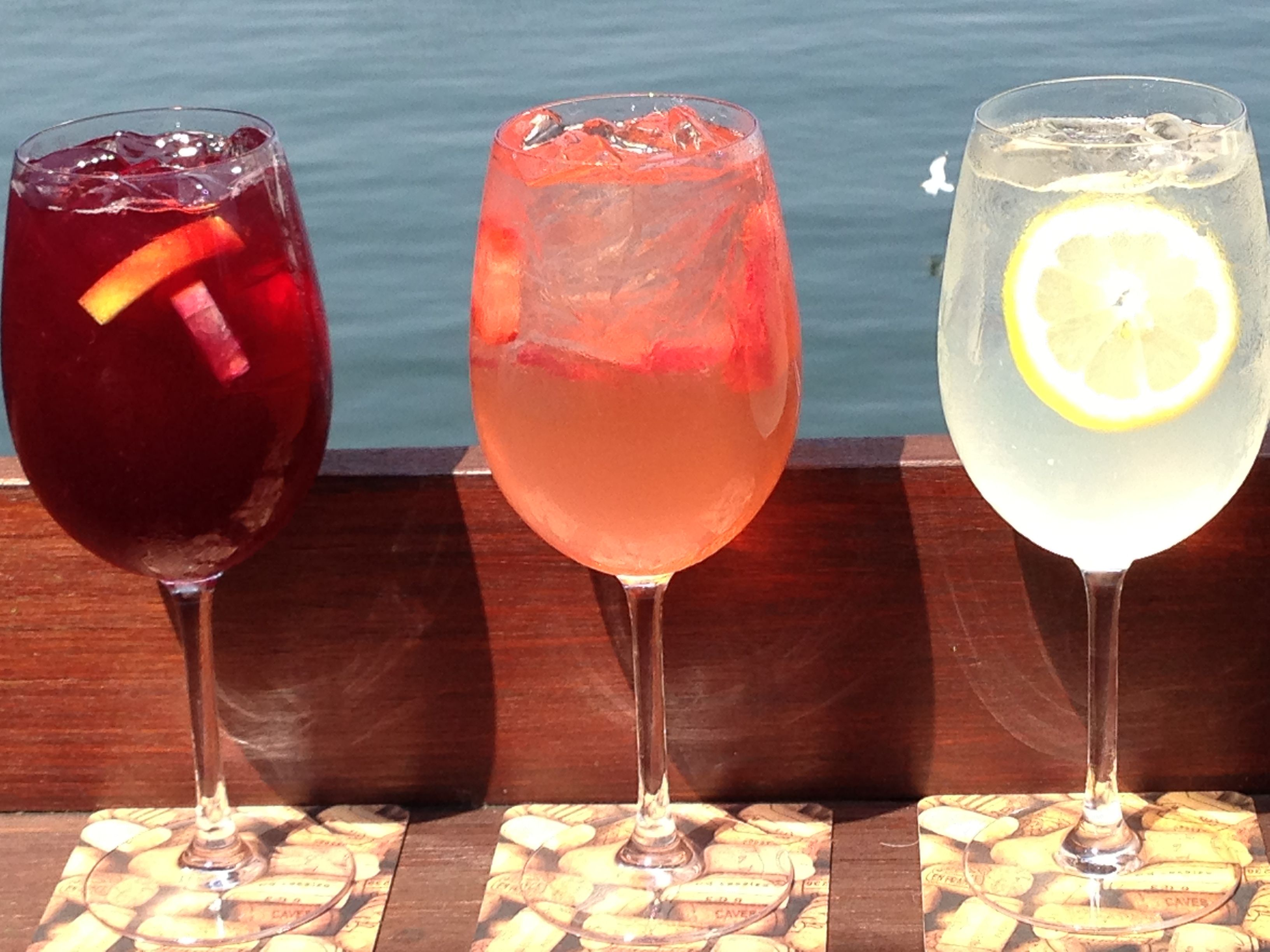Our Sangria Triple Threat White Strawberry And The Legal Original Legal Seafood Sangria Recipe Legal Seafood Sangria Recipes