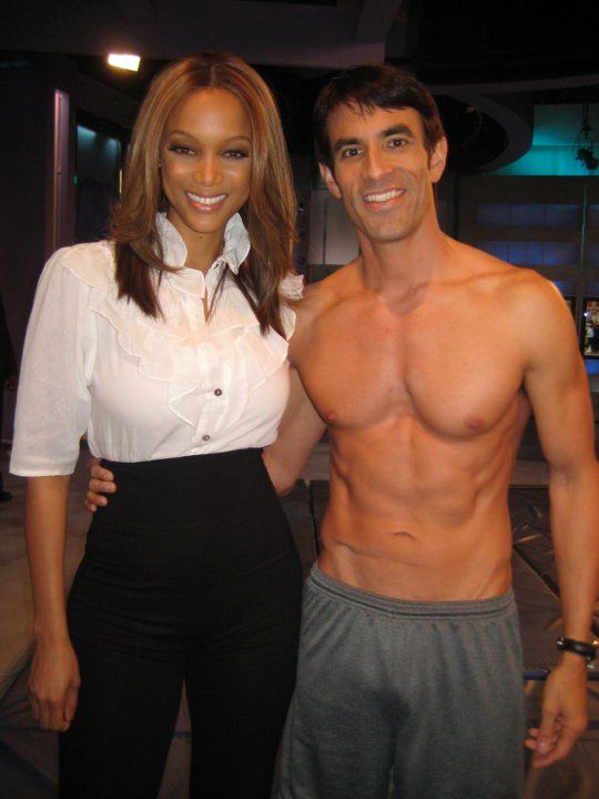 With the beautiful Tyra! Download my all-new FREE women's easy diet at http://JorgeCruise.com