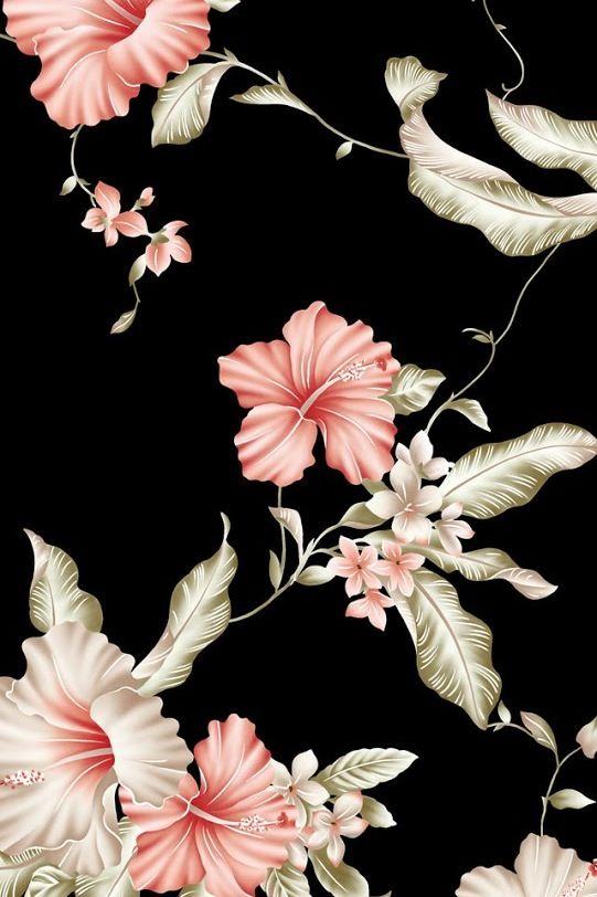 Floral Background Floral Wallpaper Iphone Iphone Wallpaper Vintage Flowers