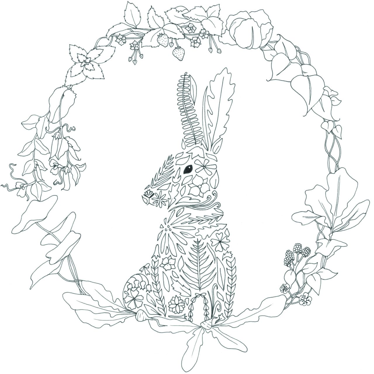 untitled?) Rabbit (from Beatrix Potter re-imagined project ...