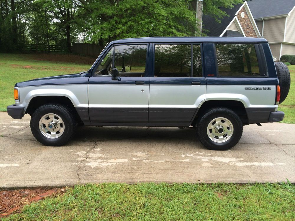1987 Isuzu Trooper Trooper My Ride Four Wheel Drive